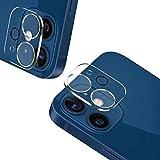 【2枚セット】For iPhone12 mini 適用 カメラフィルム 3D全面保護フィルム カメラ保護ガラス 日本旭硝子素材/99 透過率/硬度9H/指紋防止/For iPhone12 mini用 レンズ保護フィルム アイホン12 mini用 強化ガラスフィルム
