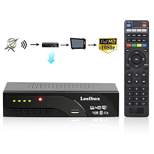 Decodificador TDT Terrestre - Leelbox Digital TV HD Euroconector Sintonizador...