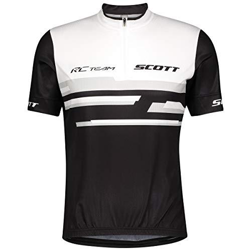 Scott RC Team 20 Fahrrad Trikot kurz weiß/schwarz 2021: Größe: L (50/52)