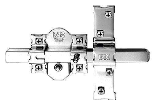 FAC 301-RP/80 - Chiavistello per porta blindata, finitura nichelata