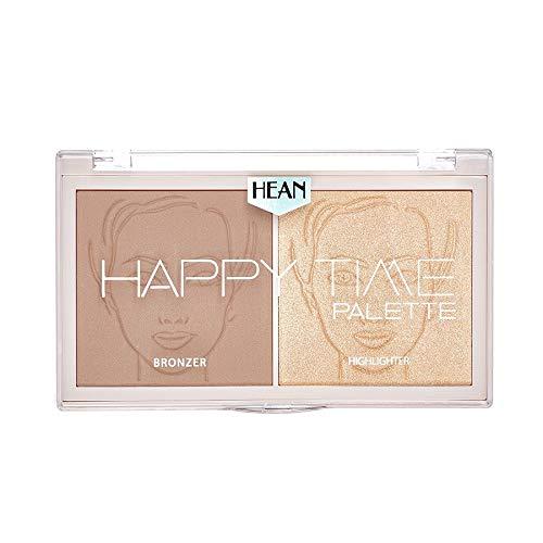 HEAN HAPPY TIME Palette Bronzer & Highlighter 01 calm, 18 g