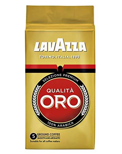 Lavazza Kaffee Qualità ORO, gemahlener Bohnenkaffee (6 x 250g)