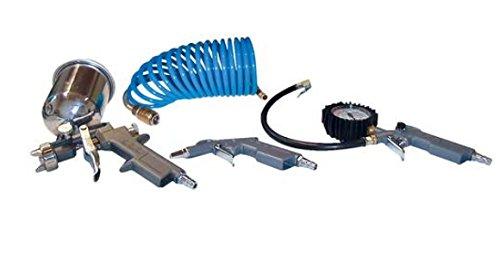 Güde DRUCKLUFT-SET 4-TLG. (METALL) - Elektrische Feinsprühsysteme