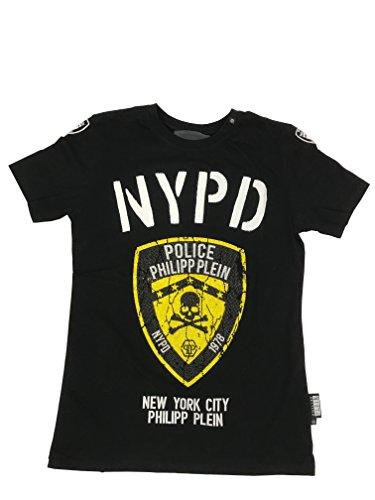 Philipp Plein Police T-Shirt Rundhals Gr. XXL schwarz