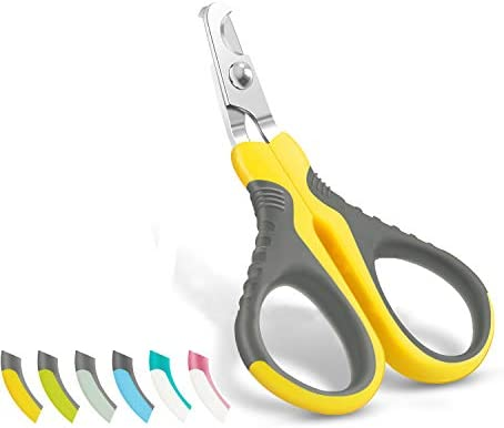 WePet Pet Nail Clippers Professional Claw Trimmer Scissor for Cats Dogs Puppies Kittens Hamsters product image