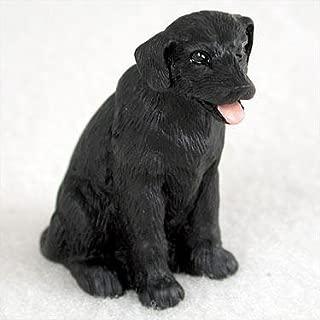 Labrador Retriever Miniature Dog Figurine - Black