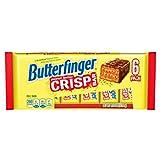 6 snack sized butterfinger crisp bars