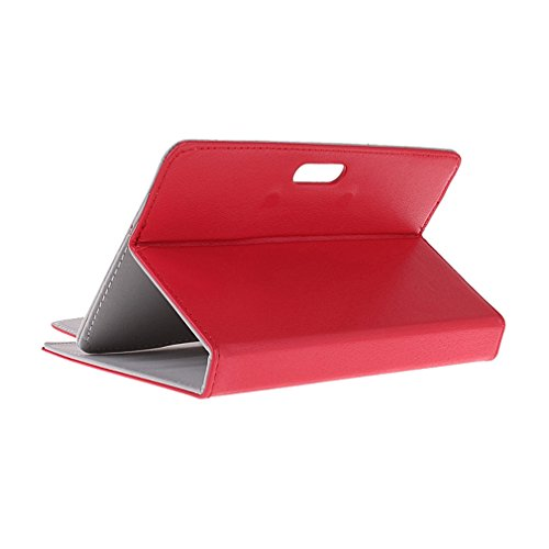 BRALEXX Universaltasche für Tablet PC passend für i.onik TP Serie 1 - 7 Zoll, Rot 7 Zoll