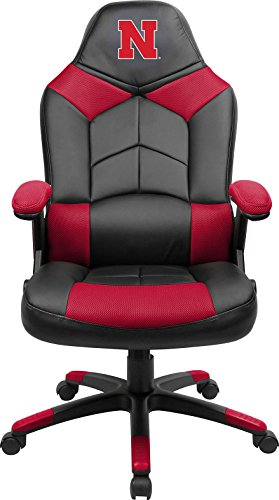 Imperial Officially Licensed NCAA Furniture; Oversized Gaming Chairs, Nebraska Cornhuskers