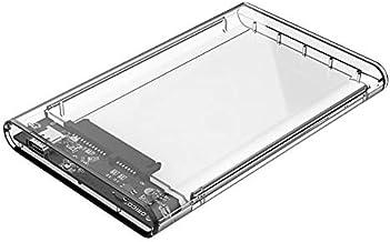 Electronic Module USB 3.0 to SATA Hard Drive Enclosure External HDD Enclosure Transparent 2.5 Inch
