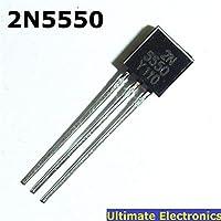 10個の2N5550 TO-92 NPN汎用トランジスタ