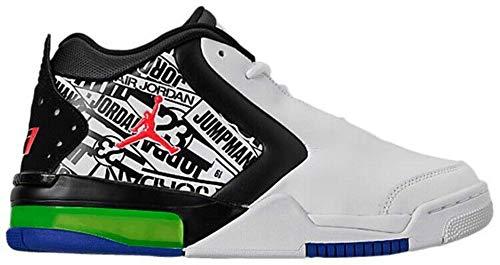 Jordan Nike Air Big Fund Premium Logos CI2216 101 Men's Shoes Sneakers (Numeric_12)