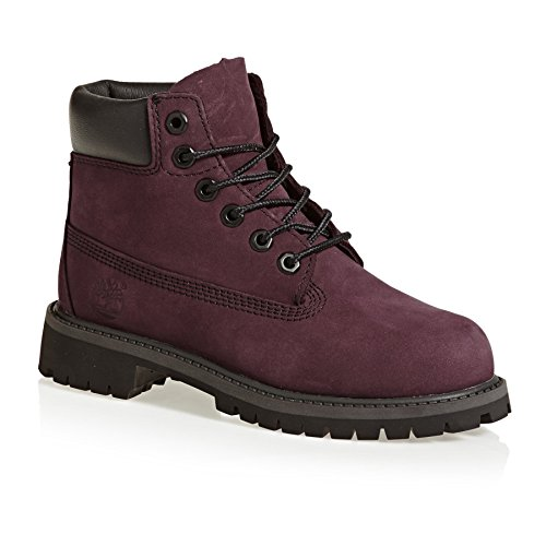 Timberland Ankle Boots 6in PRM Wp Boot Lila Madchen - 32 EU