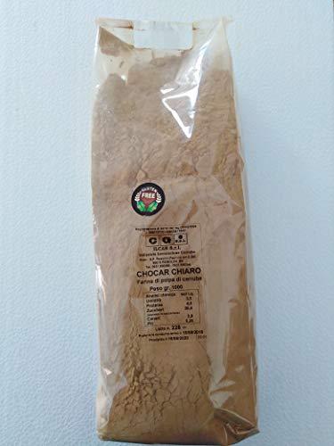 Farina di Carrube gr. 500 100% Italia Sicilia Prodotto Naturale