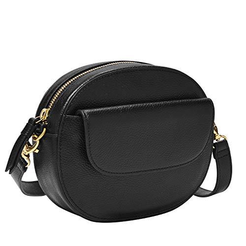 Fossil Women's Serena Leather Belt Bag Handbag, Black