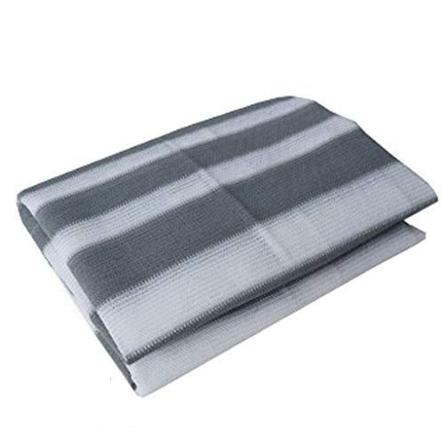 Filet de protection Filet ombrage Filet potager Couverture d'usine de rectangle pour la serre d'arrière-cour extérieure de jardin de patio, voile d'ombre de soleil de bloc avec des œillets, 0.9 × 1.8m