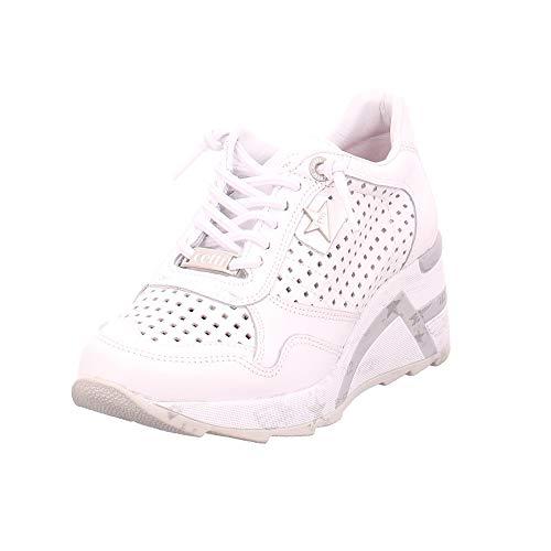 Cetti C-1143 SRA - Damen Schuhe Sneakers - Sweet-Blanco, Größe:40 EU