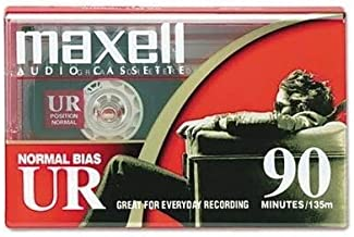 Maxell Normal Bias Ur-90 (20-pack) Standard Size Cassettes