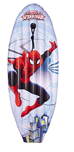 Bestway-98017 Bestway Inflatables 6942138910148 Colchoneta Hinc. Surf 114X46 Cm Spiderman, Multicolor (Kovyx Outdoor Amazon ES 25857
