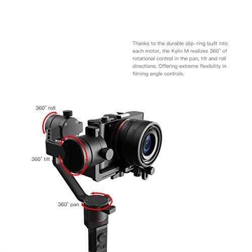 WLPT Estabilizador de 3 Ejes, estabilizador de cardán para cámaras ...