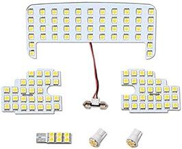 【FIELD】トヨタ シエンタ 170系 LEDルームランプ 126連SMD 6点セット NHP17 NSP17 NCP17 (電球色)
