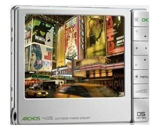 "Archos 405 2GB Portable Media Player 3.5"" Screen"