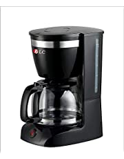 DLC Beans Arabic Coffee Machine, Black, one port