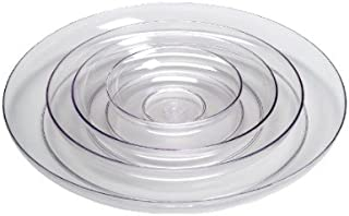 9in Lomey Clear Designer Dish, Pack 12
