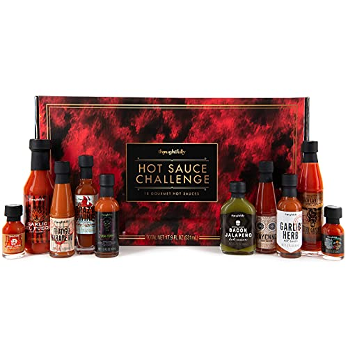 Modern Gourmet Foods, Hot Sauce Challenge Gift Set, Includes Spicy Hot...