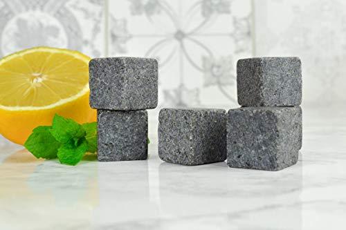 Sendez 36er Set Whisky Steine Eiswürfel Kühlsteine Steine Ice Cube Whiskysteine Stone Kühlwürfel - 4