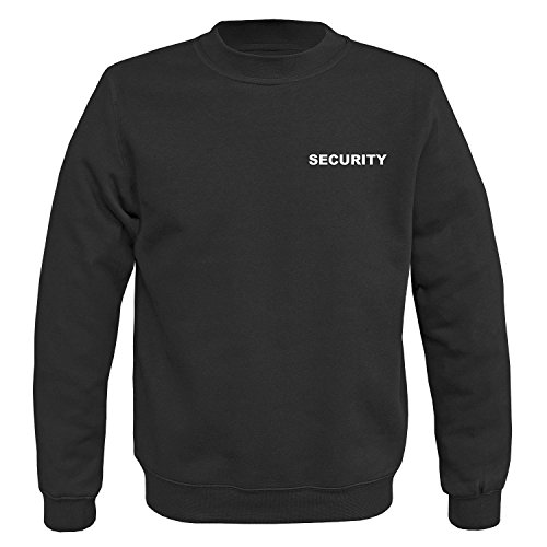 BW-ONLINE-SHOP Security Pullover II schwarz - XXL