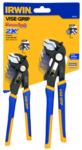IRWIN VISE-GRIP Pliers Set, V-Jaw, 2 Pieces (1802531)