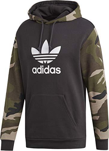 adidas Originals Herren Hoodies Camo Oth schwarz XS