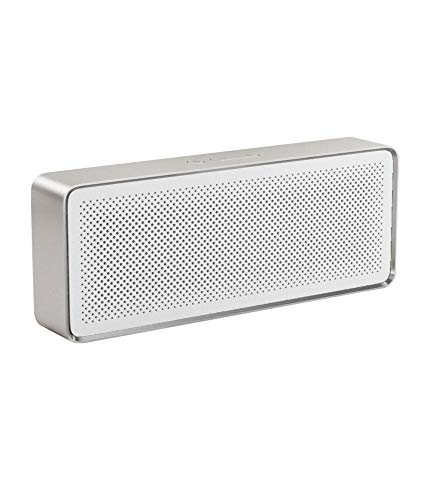 Xiaomi Mi Bluetooth Speaker 2 Lautsprecher (Tragbar, Bluetooth, 2HD Sound Quality) Silber/Weiß
