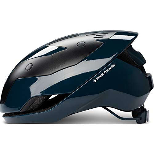 Sweet Protection unisex_adult Falconer II Aero MIPS Helmet, Gloss Midnight Blue, M