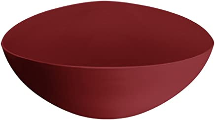 Saladeira Triangular, Coza, 10131/0465, Vermelho Bold