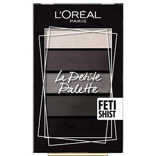 L'Oréal Paris Palette Ombretti La Petite Palette Fetishist 4 Colori e Illuminante per un Look Occhi Smoky-Eye