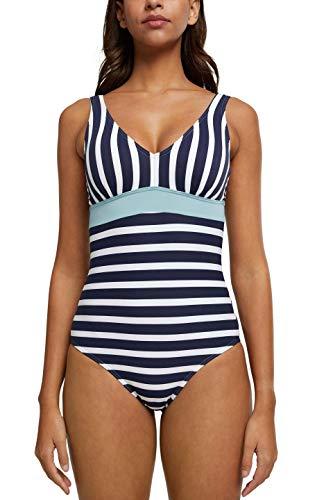 ESPRIT Bodywear Damen Tampa Beach NYRpadded Swimsuit Badeanzug, 401, 36