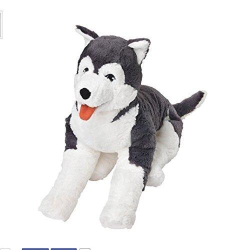 Ikea Livlig Soft Toy Husky Dog Siberian Stuffed Alaskan Malamute Eskimo Large