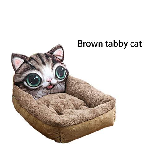 SimpleMfD Lovely Dog Bed Carpet Cartoon Animal Shaped Kennels Chair Sofá Soft Pet House Dog Bed Pad Colchón para Perros Suministros para Mascotas Pet Pet
