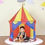Kinder Spielen Zeltschloss - tragbare Kinderzelt - Kinder Pop-Upzelt Faltbar in Tragebeutel -...