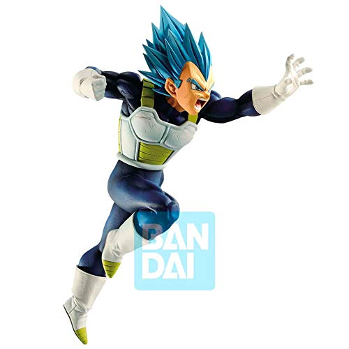 DB Banpresto Dragon Ball Super Vegeta Super Saiyan Azul Z Battle Figura PVC 15 cm