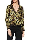 Scotch & Soda Wrap Over Top In Seasonal Prints Blusa, 0587 Combo H, M para Mujer