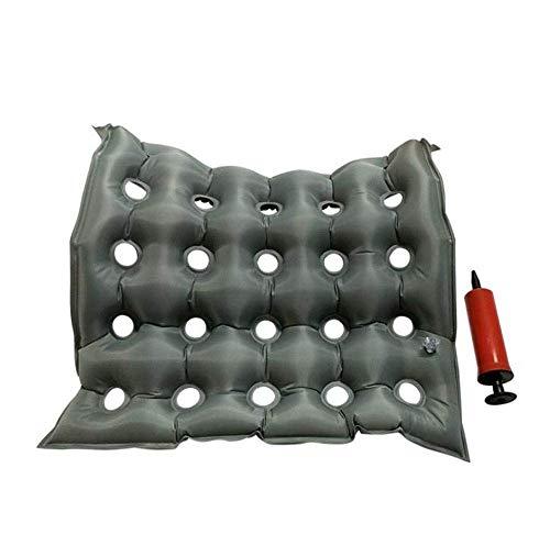 HYYQG Luft aufblasbares sitzkissen Komfortkissen für Coccyx & Lower Back Pain Relief, Druckentlastung Bürostuhl, Auto, Rollstuhl und Zuhause, B