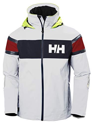 Helly Hansen Salt Flag Jacke Chaqueta, Hombre, Blanco, Large