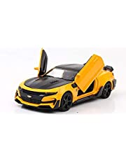 Chevrolet 1:32 Super Sports Car Model, Yellow