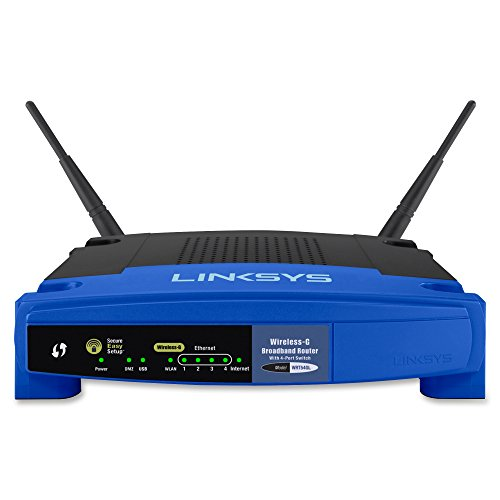 Linksys WiFi Wireless Router 802.11g Linux-based