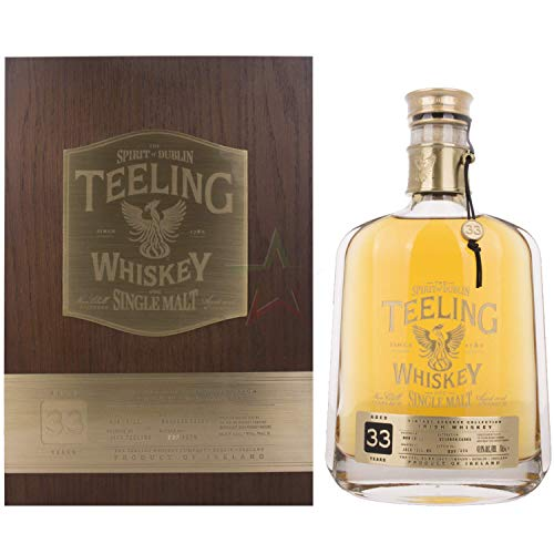 Teeling Whiskey Co. - Vintage Reserve - 33 year old Whisky