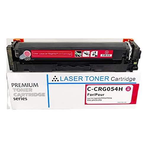 AZXZ Canon Compatible MF645CX Cartucho de tóner CRG054H MF643 MF642CDW MF641CW Cartucho de Impresora Red