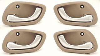 DELPA CL3565 > Inside Door Handles 4 pcs (2 Left & 2 Right) Fits: Suzuki Grand Vitara